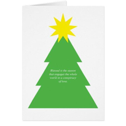 Blessed es la estación tarjetas