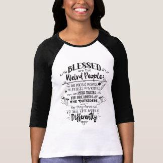 ¡Blessed es la gente extraña! Polera