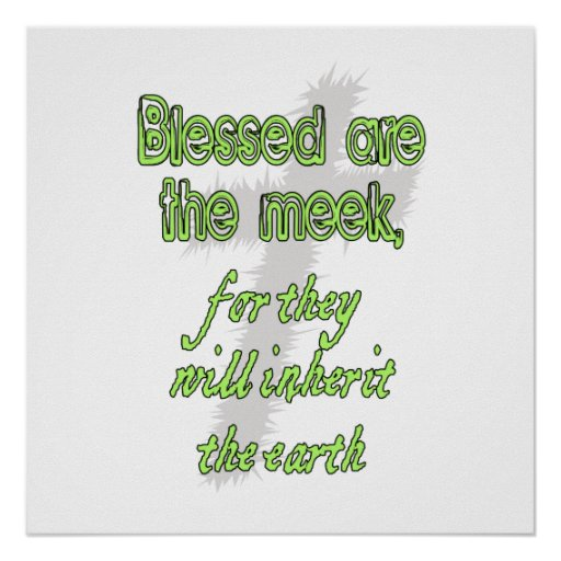Blessed es la mansa póster