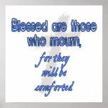 Blessed es las que están de luto impresiones