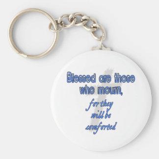 Blessed es las que están de luto llaveros personalizados