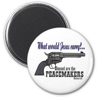 Blessed es los pacificadores imán