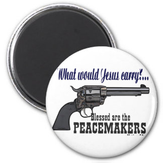 Blessed es los pacificadores imán redondo 5 cm
