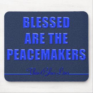 Blessed es los pacificadores alfombrilla de ratón
