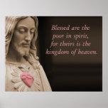 Blessed es los pobres en beatitudes del alcohol posters