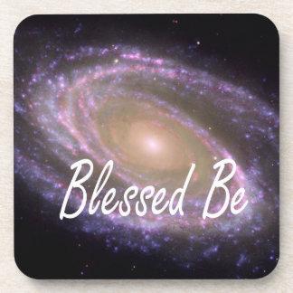 Blessed esté diciendo contra imagen de la galaxia posavaso