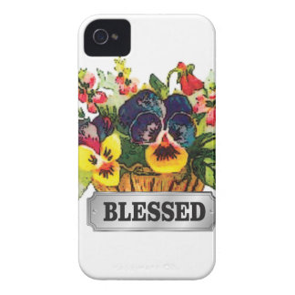 blessed flower arrangement Case-Mate iPhone 4 case