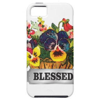 blessed flower arrangement iPhone SE/5/5s case