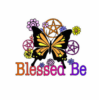 blessed flowers statuette