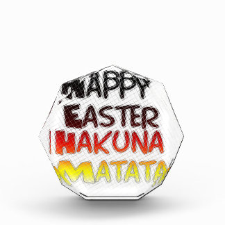 Blessed Happy Easter Hakuna Matata Holiday Season Award