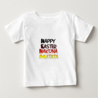 Blessed Happy Easter Hakuna Matata Holiday Season Baby T-Shirt
