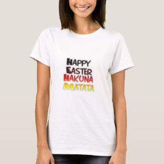 Blessed Happy Easter Hakuna Matata Holiday Season T-Shirt