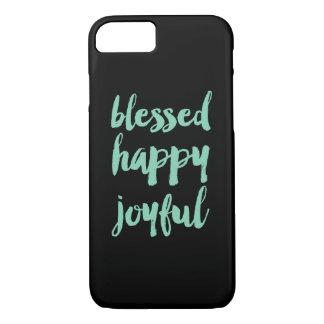 Blessed happy joyful iPhone 7 case