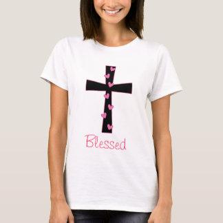 Blessed Heart Cross T-Shirt