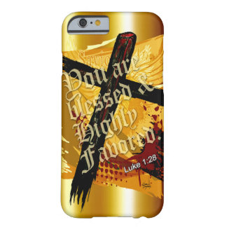 Blessed & Highly Favored   gold Barely There iPhone 6 Case