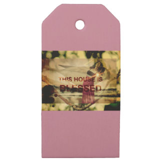 Blessed Home Gifts Wooden Gift Tags