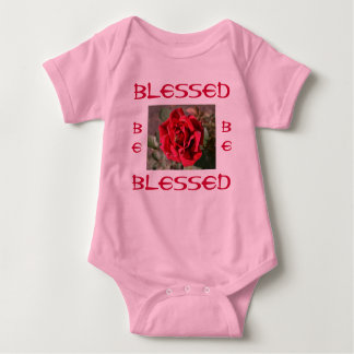 BLESSED infant onsie creeper