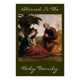 blessed is the holy family print