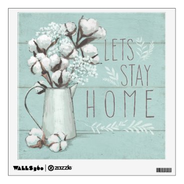 Art Themed Blessed IV Mint | Lets Stay Home Wall Sticker