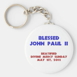 Blessed John Paul 2 Keychain