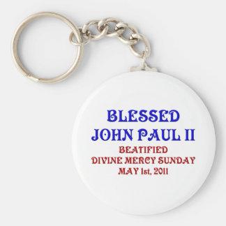 Blessed John Paul 2 Keychains