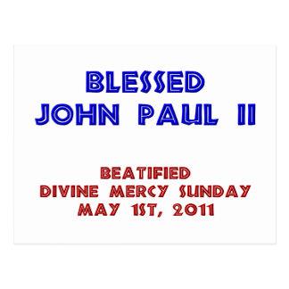 Blessed John Paul 2 Postcard