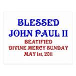 Blessed John Paul 2 Postcards