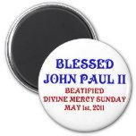 Blessed John Paul 2 Refrigerator Magnets
