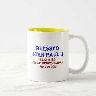 Blessed John Paul 2 Two-Tone Coffee Mug