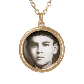 Blessed Jose Sanchez Del Rio Round Pendant Necklace