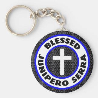 Blessed Junipero Serra Basic Round Button Keychain