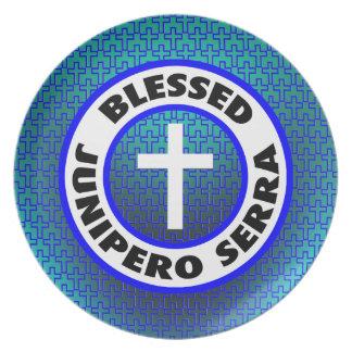Blessed Junipero Serra Melamine Plate