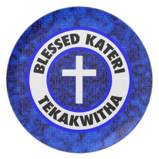 Blessed Kateri Tekakwitha Dinner Plate
