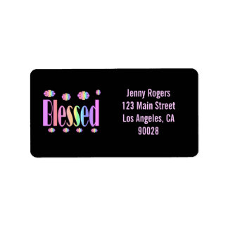 Blessed Label