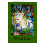 Blessed Litha Greeting Card