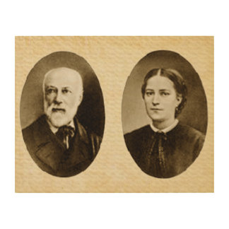 Blessed Louis and Zelie Martin Wood Wall Art