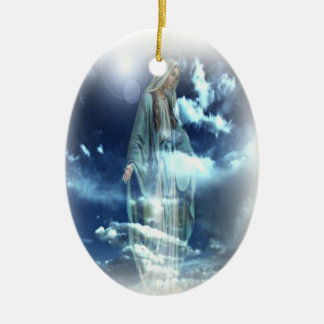 Blessed Mary Christmas Ornament