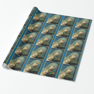 Blessed Mary Virgin with Child Jesus Wrapping Paper