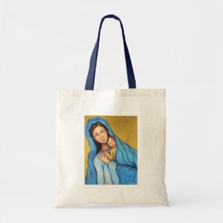 Blessed Mother Budget Tote Bag