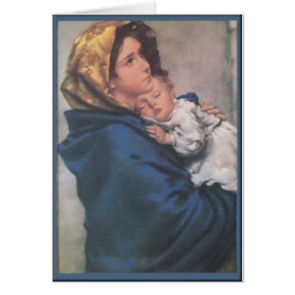 Blessed Mother Card
