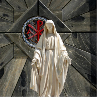 Blessed Mother Cutout