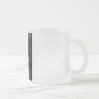 Blessed Mother Frosted Glass Coffee Mug