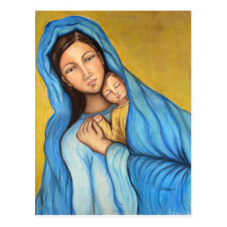 Blessed Mother Postcard