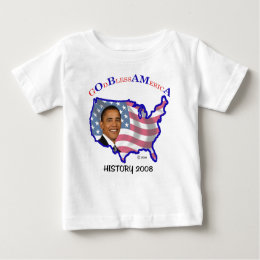 Blessed Name Obama Infant T Baby T-Shirt