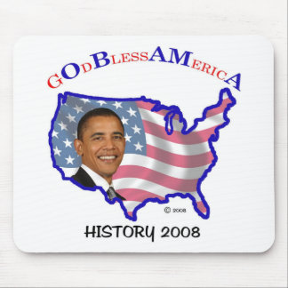 Blessed Name Obama Mouse Pad