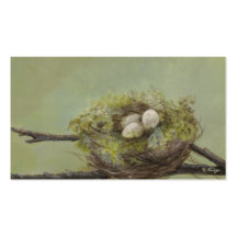 Blessed Nest Business Card - Customizable