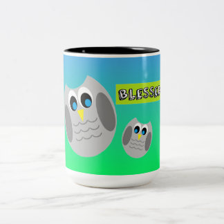 Blessed Owl Mug