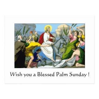 Blessed Palm Sunday Post Cards