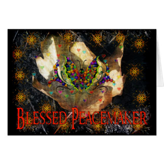 Blessed Peacemaker Greeting Card