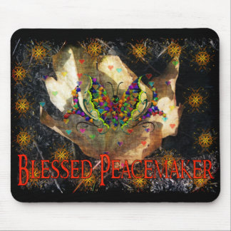Blessed Peacemaker Mouse Pad